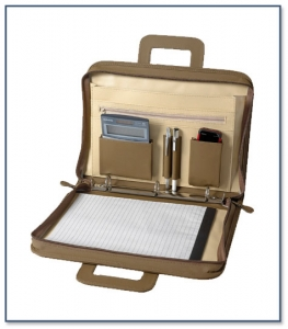 A4 Document Folder with Retractable Handle F045
