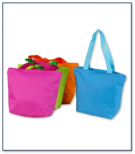 Beach Bag with Zipper Closure 4700