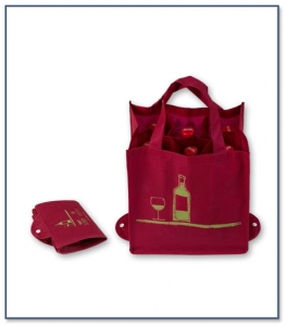 Foldable Wine Bag PPF005