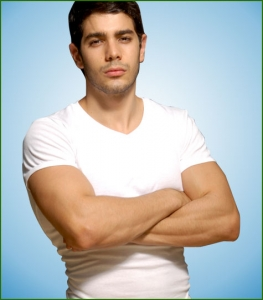 Men Undershirt V-Neck