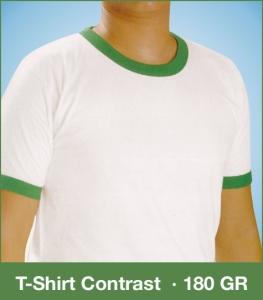 T-Shirt Contrast 180GR