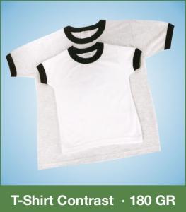 T-Shirt Kids Contrast 180GR