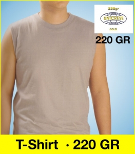 T-Shirt Sleeveless 220GR